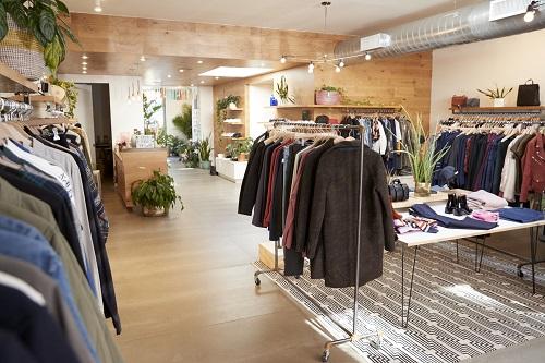 Boutique de vêtements à Marseille